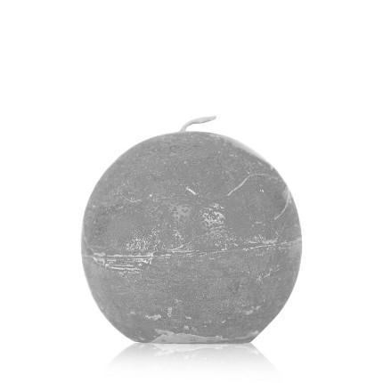 Wackx Rustic Cylinderkerze Slate grey 7x20 cm